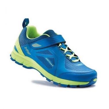 Pantofi all terrain NORTHWAVE Escape Evo albastru-lime