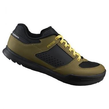 Pantofi SHIMANO SH-AM501 Off-Road/Gravity olive mărime 45