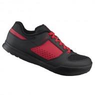 Pantofi SHIMANO SH-AM501 Off-Road/Gravity negru/roşu mărime 41
