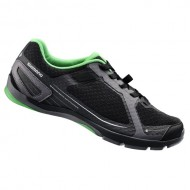 Pantofi SHIMANO SH-CT41 Click-R negru/verde mărime 42