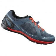 Pantofi SHIMANO SH-CT41 Click-R navy/portocaliu mărime 44