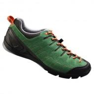 Pantofi SHIMANO SH-CT80 Click-R verde/portocaliu mărime 44