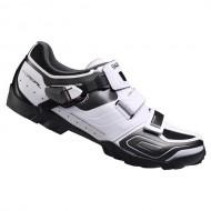 Pantofi SHIMANO SH-M089 Trail alb/negru mărime 44