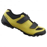 Pantofi SHIMANO SH-ME100 Off-Road/Mountain Enduro galben/negru mărime 44