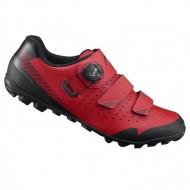 Pantofi SHIMANO SH-ME400 Off-Road/Mountain Enduro roşu/negru mărime 42