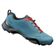 Pantofi SHIMANO SH-MT300 MTB/Touring albastru/portocaliu mărime 45