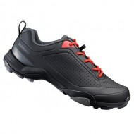 Pantofi SHIMANO SH-MT300 MTB/Touring negru/portocaliu mărime 45