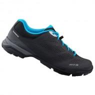 Pantofi SHIMANO SH-MT301 Explorer/Mountain Touring negru/albastru mărime 45