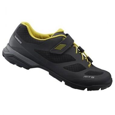 Pantofi SHIMANO SH-MT501 Explorer/Mountain Touring negru/galben mărime 45