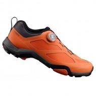 Pantofi SHIMANO SH-MT700 Mountain Touring portocaliu mărime 44