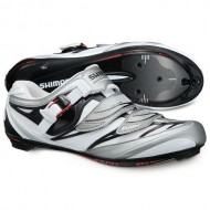 Pantofi SHIMANO SH-R133 Road alb/negru mărime 43