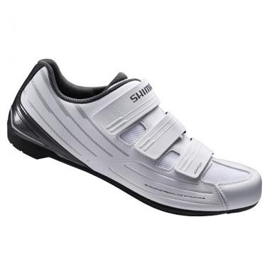 Pantofi SHIMANO SH-RP200 Road Performance alb/negru mărime 43