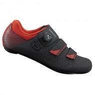 Pantofi SHIMANO SH-RP400 Road Performance negru/roşu mărime 41