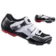 Pantofi SHIMANO SH-XC51 XC-Racing alb/negru mărime 42