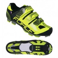 Pantofi FORCE MTB Free Force negru-fluorescent mărime 38
