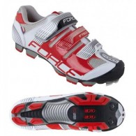 Pantofi FORCE MTB Free Force alb-roșu mărime 45