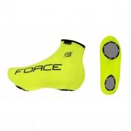 Husă protecţie pantofi FORCE Incision - fluorescent mărime L-XL (44-48)