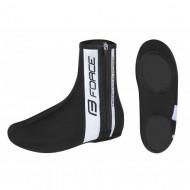 Husă protecţie pantofi FORCE Neopren - negru mărime L (42-44)