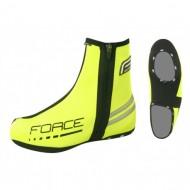 Husă protecţie pantofi FORCE - fluorescent mărime L (42-44)