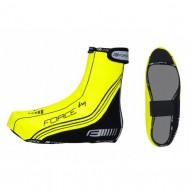 Husă protecţie pantofi FORCE PU Dry - fluorescent mărime S (38-40)