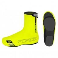 Husă protecţie pantofi FORCE PU Dry Fluo - fluorescent mărime L (42-44)