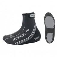 Husă protecţie pantofi FORCE PU Dry - negru/alb mărime S (38-40)