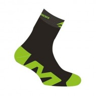 Șosete Merida ME17 verde/negru mărimea M
