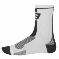 Șosete FORCE Long alb/negru L-XL