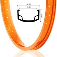 """Jantă BEFLY BMX Ace 20"""" - 36H orange"""