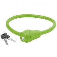 Lacăt M-WAVE 12x600 mm - cu cheie verde