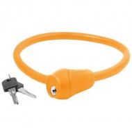 Lacăt M-WAVE 12x600 mm - cu cheie portocaliu