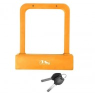 Lacăt M-WAVE U-lock - cu cheie portocaliu