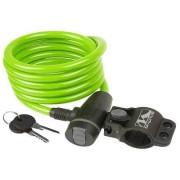 Lacăt M-WAVE 10x1800 mm - cu cheie verde