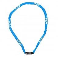 Lacăt AXA Rigid RCC 1200x3.5 mm - cu cheie - albastru