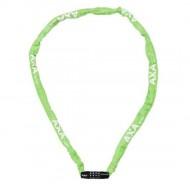 Lacăt AXA Rigid RCC 1200x3.5 mm - cu cheie - verde