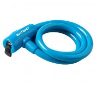 Lacăt EXTEND - cu cheie 12x1200 mm albastru