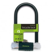 Lacăt BIKEFUN Full-Back 320x165x16 mm U-Lock - cu cheie