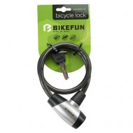 Lacăt BIKEFUN Loop 650x10 mm - cu cheie