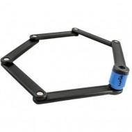Lacăt LUMA Carpenter cu cheie 800 mm negru/albastru