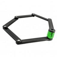 Lacăt LUMA Carpenter cu cheie 800 mm negru/verde