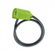 Lacăt LUMA Enduro C30 1850x10 mm negru/verde