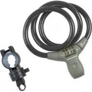 Lacăt KROSS 900x12 mm - cu cifru gri