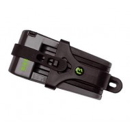 Lacăt BIKEFUN X-Safe folding 700 mm - cu cheie negru