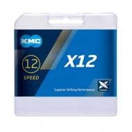 Lanț KMC X12 Ti-N Silver - 12 viteze 126 zale