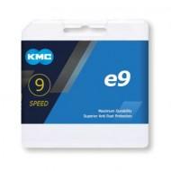 Lanț KMC e9 E-Bike 9 viteze 136 zale