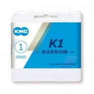 Lanț KMC K1-narrow BMX - 1 viteză
