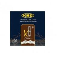 Lanț KMC X8 - 8 viteze