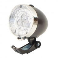 Far BIKEFORCE Classic 3 LED-uri - negru