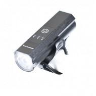 Far BIKEFORCE 1LED 400 LM/2200 mAh USB negru