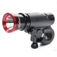 Far RPC 5W-270L 1 LED negru/roșu